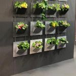 AcoustiX wall decoration with plants